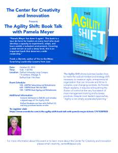 Agility Shift Book Talk